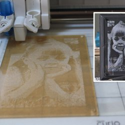 Realistic Photo Etching with your Silhouette with Kay Hall