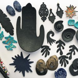 Polymer Clay Cut Ups: Putting your Silhouette Curio™ to work