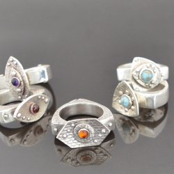 Learn to Make the Infinity Rings using Metal Clay with Tracey Spurgin