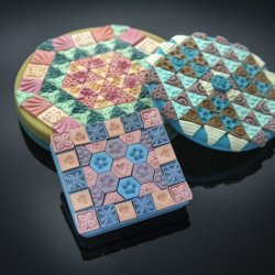 Polymer Clay Tessellation Box with Anke Humpert @ CraftCast.com