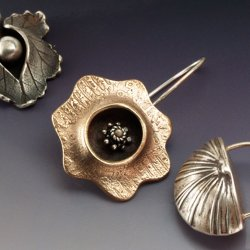 A Parade of Earrings to Make in Metal Clay with Donna Penoyer