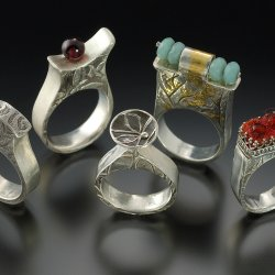 Hollow Ring Construction in Metal Clay with Lora Hart