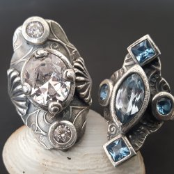 Metal Clay BLING Rings with Sulie Girardi