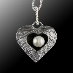 My Open Heart: 3D Metal Clay Pendants with Janet Alexander