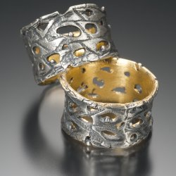 Ring Making Techniques: Using Sterling Clay with Celie Fago