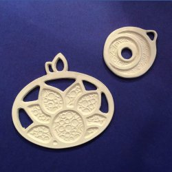Creating Deep Etched Metal Clay with the Silhouette Curio with Cindy Pope at CraftCast.com