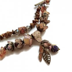CRAFTCAST After the Harvest Charm Bracelet with Julie Haymaker