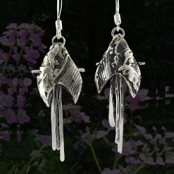 Metal Clay Earrings 101 with Janet Alexander