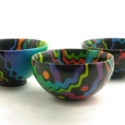 learn to make polymer clay bowls