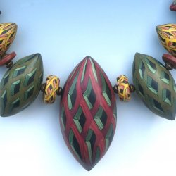 Trompe L'Oeil Polymer Clay Beads with Sarah Shriver