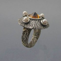 Learn to Make this Spectacular Ring in Metal Clay